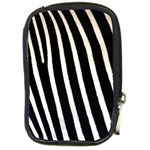 Zebra Print	 Compact Camera Leather Case