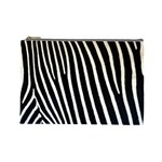 Zebra Print	 Cosmetic Bag (Large)