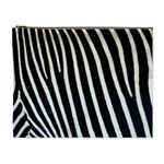 Zebra Print	 Cosmetic Bag (XL)