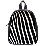 Zebra Print	 School Bag (Small)