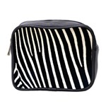 Zebra Print	 Mini Toiletries Bag (Two Sides)