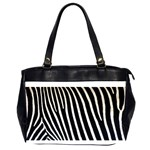 Zebra Print	 Oversize Office Handbag (Two Sides)