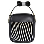 Zebra Print	 Girls Sling Bag