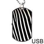 Zebra Print	Dog Tag USB Flash (One Side)