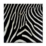 Zebra Print Big	 Tile Coaster