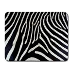 Zebra Print Big	 Small Mousepad