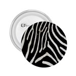 Zebra Print Big	 2.25  Button