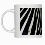 Zebra Print Big	 White Mug
