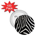 Zebra Print Big	 1.75  Button (100 pack)