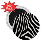 Zebra Print Big	 2.25  Magnet (100 pack)