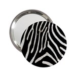 Zebra Print Big	 2.25  Handbag Mirror