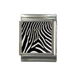 Zebra Print Big	 Italian Charm (13mm)
