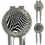 Zebra Print Big	 3-in-1 Golf Divot