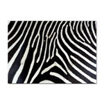 Zebra Print Big	 Sticker (A4)