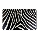 Zebra Print Big	 Magnet (Rectangular)