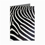 Zebra Print Big	 Mini Greeting Card