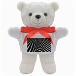 Zebra Print Big	 Teddy Bear