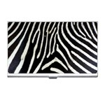 Zebra Print Big	 Business Card Holder