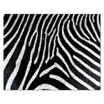 Zebra Print Big	 Jigsaw Puzzle (Rectangular)
