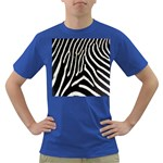 Zebra Print Big	 Dark T-Shirt