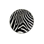 Zebra Print Big	 Hat Clip Ball Marker (4 pack)