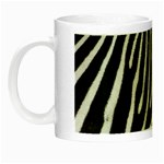 Zebra Print Big	 Night Luminous Mug
