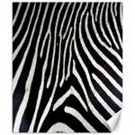 Zebra Print Big	Canvas 8  x 10