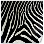 Zebra Print Big	Canvas 12  x 12