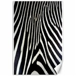 Zebra Print Big	Canvas 12  x 18