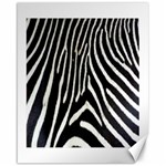 Zebra Print Big	Canvas 16  x 20