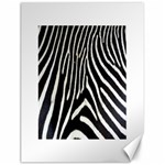 Zebra Print Big	Canvas 18  x 24