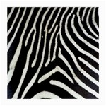 Zebra Print Big	 Glasses Cloth (Medium