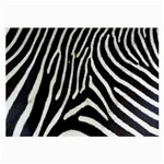 Zebra Print Big	 Glasses Cloth (Large)