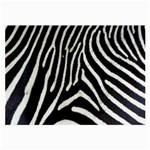 Zebra Print Big	 Glasses Cloth (Large