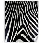 Zebra Print Big	Canvas 11  x 14
