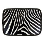 Zebra Print Big	 Netbook Case (Medium)