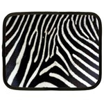 Zebra Print Big	 Netbook Case (Large)