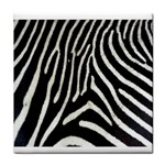 Zebra Print Big	 Face Towel