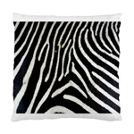 Zebra Print Big	 Cushion Case (One Side)