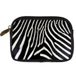 Zebra Print Big	 Digital Camera Leather Case
