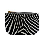 Zebra Print Big	 Mini Coin Purse
