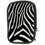 Zebra Print Big	 Compact Camera Leather Case