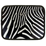 Zebra Print Big	 Netbook Case (XXL)