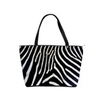 Zebra Print Big	 Classic Shoulder Handbag