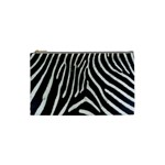 Zebra Print Big	 Cosmetic Bag (Small)