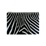 Zebra Print Big	 Cosmetic Bag (Medium)