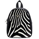 Zebra Print Big	 School Bag (Small)