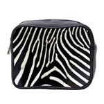 Zebra Print Big	 Mini Toiletries Bag (Two Sides)