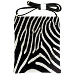Zebra Print Big	 Shoulder Sling Bag