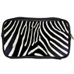 Zebra Print Big	 Toiletries Bag (Two Sides)